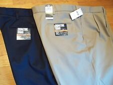 NWT $65. MSRP, Mens Dockers 100% Cotton Signature Khaki Pleated Pants