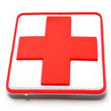 Red Cross RESCUER GEAR MEDICAL TREATMENT TACTICAL Morale Badge PATCH