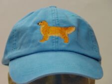 GOLDEN RETRIEVER WOMEN MEN SOLID COLOR DOG BASEBALL HAT - Price Embroidery Cap