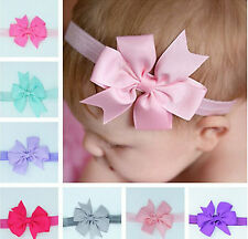 wholesale Headwear Baby Toddler Cute Girl Kids Bow Hairband Turban Knot Headband
