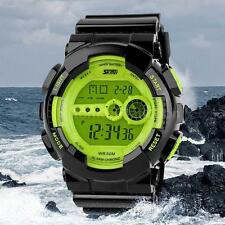 SKMEI MENS WATERPROOF DIGITAL WRIST WATCH FASHION MULTIFUNCTION SPORT WATCH I5VF