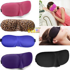Serveral color Eye Mask Sleep Soft Padded Shade Cover relax Sleeping Blindfold