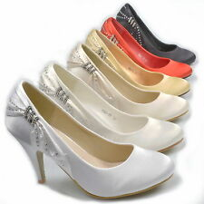 BRIDAL SHOES~WEDDING SHOES~COURT SHOES~EVENING SHOES~SATIN~HS1