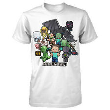 OFFICIAL Minecraft - Party YOUTH T-shirt NEW LICENSED Kids Merch ALL SIZES