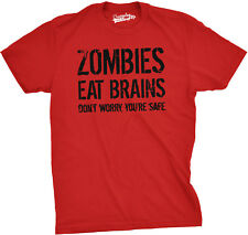 Youth Zombies Eat Brains Shirt Funny Zombie T shirts Living Dead Zombie Outbreak