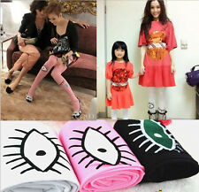 3Colors Fashion Sexy Womens Eyes Tears Velvet Pantyhose Mock Stocking Tights