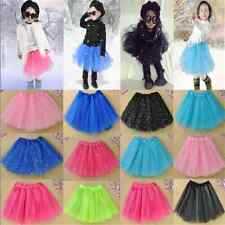 Fashion Girls Kids Tutu Skirt Party Ballet Dance Wear Dress Pettiskirt Costume F