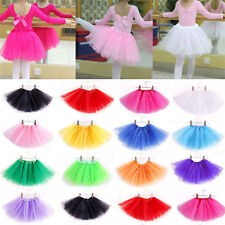 Baby Girl Kids Tutu Skirt Princess Party Ballet Pettiskirt Dance Dress Costume