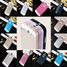 Hot Aluminum Metal Bumper + Hard Back Cover For Samsung Galaxy S4 S3 S5 Cover