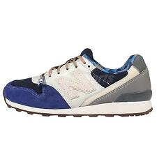 New Balance WR996GM D Navy Grey Womens Retro Running Shoes Sneakers WR996GMD