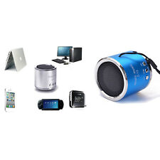 Mini Wireless HiFi MP3 Player Portable Speaker Line-in FM Radio TF Card USB Disk