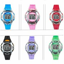 Boy Girl Sports Watch LED Digital PU Band Sport Quartz Wrist watches Bracelet