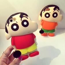 Cute 3D Crayon Shin Chan Cartoon Silicone Case Cover For iPhone 5S 6 S Plus P306