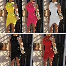 New Women Summer Casual Office Lady Party Evening Cocktail Mini Dress