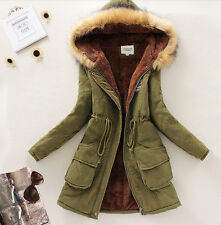 Warm Fashion Womens Slim Parka Thicken Winter Warm Fashion Coat Jacket Outerwear