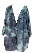 NWT 4X 30/32 Maggie Barnes Teal Burnout Wave Jacket Top