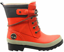 Timberland Welfleet Smartwool Womens Wellington Boots Orange Girls 3664R U8