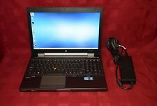 "HP EliteBook 8560w Notebook / Laptop "" Core i7 ""  Gaming Auto Cad FULLY LOADED!"
