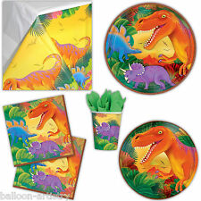 Prehistoric Dino Dinosaur Birthday Party Plates Cups Napkins Tableware Listing