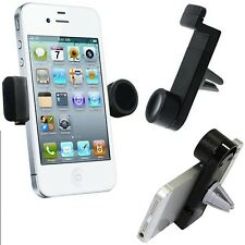 360°ROTATING IN CAR AIR VENT MOUNT HOLDER CRADLE STAND FOR LATEST MOBILE PHONES