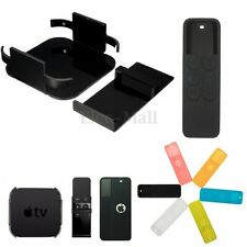 Wall Mount Holder Bracket Tray For Apple TV & Remote RC 4 4th Generation Mount