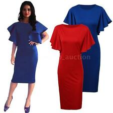 Sexy Women's Summer Short Sleeve Bodycon Party Evening Short Mini Dress C6M1