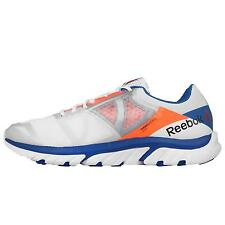 Reebok Reebok Zstrike Run White Blue Orange Mens Running Shoes Sneakers V68309
