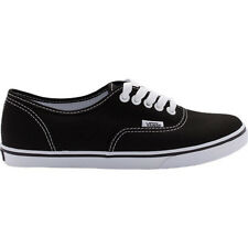 Vans Authentic Lo Pro Womens Footwear Shoe - Black True White All Sizes