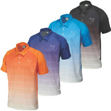 40% OFF RRP Puma Golf Mens Titan Stripe Polo Shirt 569099 DryCELL Stretch Tech