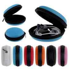 New Mini Hard Case Earphone Headphone Earbuds Cards Carrying Storage Bag Pouch F