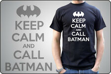 t-shirt KEEP CALM AND CARRY ON - Keep CALM and CALL BATMAN - MAN WOMAN CHILD