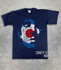 men's T-SHIRT KEITH MOON vintage TARGET mods The Who England Pete Townsend