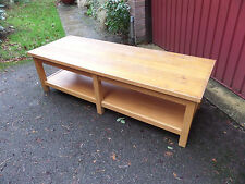 Modern Light Oak Effect COFFEE or Occasional TABLE
