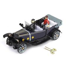 RETRO Wind Up Roadster Vehicle Convertible Car Tin Toy Collectible Gift