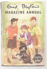 ENID BLYTON'S MAGAZINE ANNUAL NUMBER 2 HB DJ Famous Five Secret Seven Noddy Book