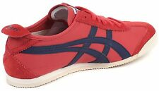 BN Men's Authentic Onitsuka Tiger Mexico 66  Red/Navy Size US 11 - EUR 45
