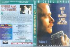 DVD:  EASY TO MASTER CARD MIRACLES VOLUME 3.........MICHAEL AMMAA