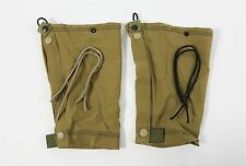 NEW London Bridge LBT-2701A Lightweight Ankle Gaiters Tan Weather Resistant