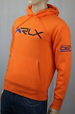 Polo Ralph Lauren Orange RLX Hoodie Pullover Sweatshirt NWT