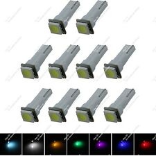 10X T5 85 86 2721 1 SMD 5050 LED Reading Light Wedge Side Bulbs Lamp Auto ZB001