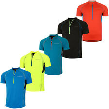 52% OFF RRP Dare 2b Mens Jeopardy Cycling Jersey Half Zip Short Sleeve Top