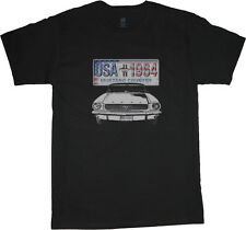 Ford Mustang t-shirt for men mustang cobra racing tee shirt mens tshirt 1964