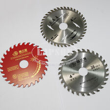 "4"" 110mm Wood Working Saw Blade Cutting Slice Tungsten Steel Alloy Circular US 1"