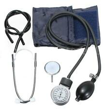 Aneroid Sphygmomanometer Arm Blood Pressure Monitor Set Single /Dual Stethoscope