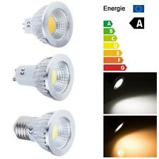 6W 9W 12W GU10 MR16 E27 COB LED Dimmable Spot Light Globe Bulbs Warm/Day White