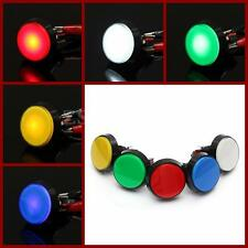60MM LED Illuminated Lit Light Round Arcade Video Game Player Push Button Switch
