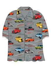 CHEVY CLASSIC TRUCKS Hawaiian Camp Shirt - David Carey Originals - BRAND NEW!