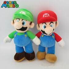 Cute Super Mario Bros Mario Luigi Figures Soft Plush Doll Kids Children Baby Toy