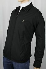 Polo Ralph Lauren Black Jacket Coat Tan Pony NWT $145