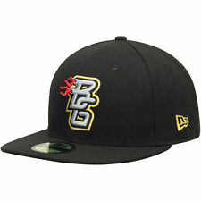 New Era Bowling Green Hot Rods Black Authentic Home 59FIFTY Fitted Hat